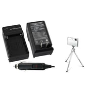 Insten 2-Piece DV Battery Charger Bundle For Sony NP-FM30/NP-FM50/NP-FM70/NP-FM90/NP-FM55H(361192)