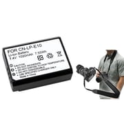 Insten® 369846 3-Piece DV Battery Bundle For Eos Rebel T3/Canon LP-E10