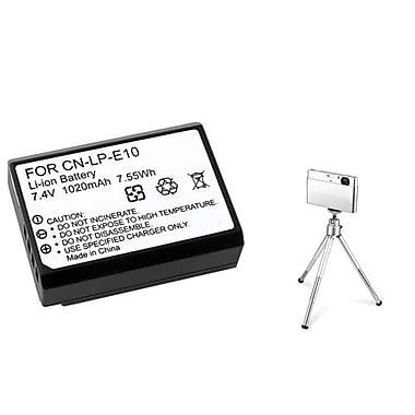Insten® 369860 2-Piece DV Battery Bundle For Eos Rebel T3