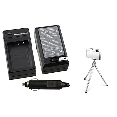 Insten® 369862 2-Piece DV Battery Charger Bundle For Canon LP-E10