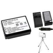 Insten® 369863 3-Piece DV Battery Bundle For Eos Rebel T3/Canon LP-E10