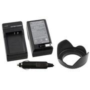 Insten - Ensemble de chargement 2 morceaux de batterie CC pour Canon LP-E10 (369882)