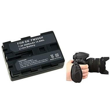 Insten® 377710 3-Piece DV Battery Bundle For Sony NP-FM500H/Alpha A850/Nikon/Canon/Pentax/Minolta