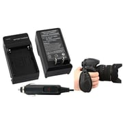 Insten® 2-Piece DV Battery Charger Bundle For Sony NP-FM30/NP-FM50/NP-FM70/NP-FM90/NP-FM55H(377711)