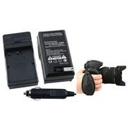 Insten® 2-Piece DV Battery Charger Bundle For Nikon EN-EL3(377720)