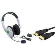Insten® 2-Piece Game Cable Bundle For Microsoft Xbox 360(384187)
