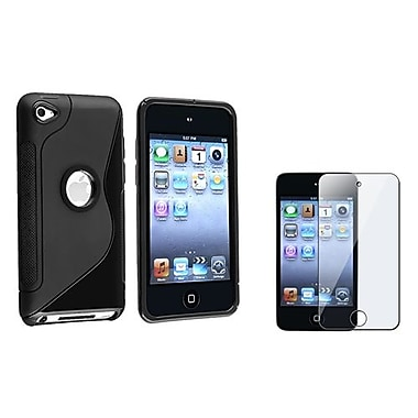Insten 2 Piece MP3 Screen Protector Bundle For Apple iPod Touch 4th Gen (406734)