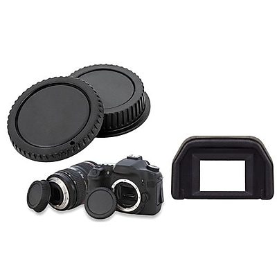 Insten® 411729 2-Piece DV Cap Bundle For Canon EOS