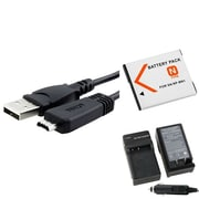 Insten® 429537 4-Piece DV Battery Bundle For Sony NP-BN1/Cyber-Shot DSC-TX30/Sony VMC-MD3