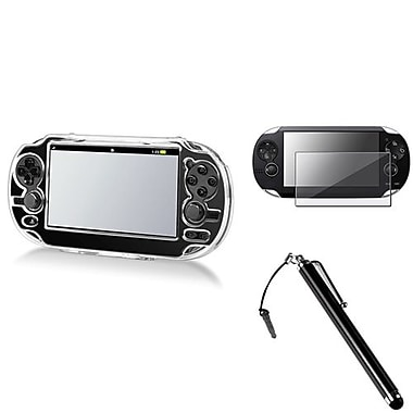 Insten 3 Piece Game Case Bundle For Sony PlayStation Vita/Vita 2000 (498549)