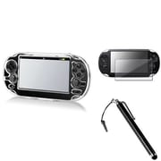 Insten® 498549 3-Piece Game Case Bundle For Sony PlayStation Vita/Vita 2000