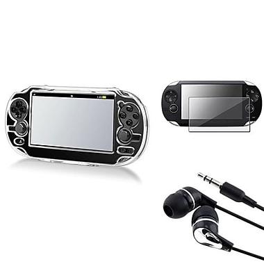 Insten® 3-Piece Game Case Bundle For Sony PlayStation Vita(498590)