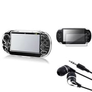 Insten® 498590 3-Piece Game Case Bundle For Sony PlayStation Vita