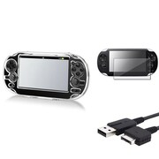 Insten® 516269 3-Piece Game Cable Bundle For Sony PlayStation Vita/Vita 2000