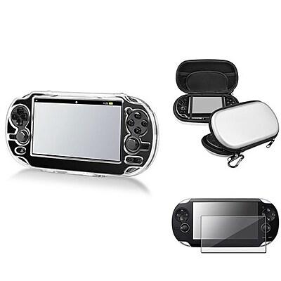 Insten® 547842 3-Piece Game Case Bundle For Sony PlayStation Vita/Vita 2000