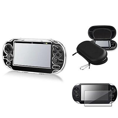 Insten® 547844 3-Piece Game Case Bundle For Sony PlayStation Vita/Vita 2000