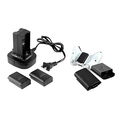 Insten® 667825 3-Piece Game Controller Shell Bundle For Microsoft Xbox 360