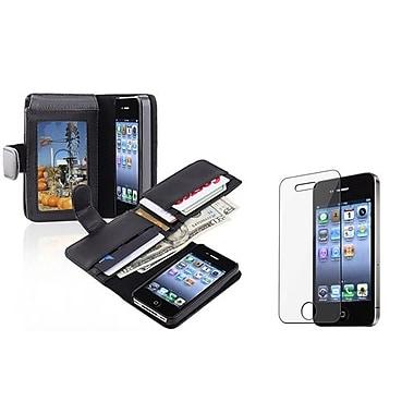 Insten® 674256 2-Piece iPhone Case Bundle For Apple iPhone 4/4S