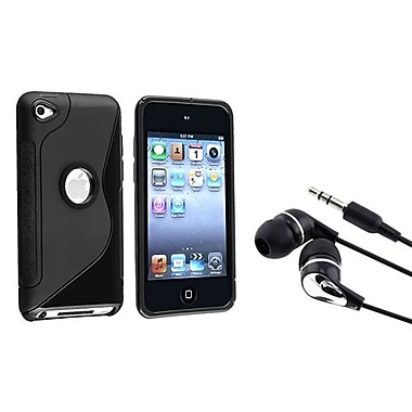 Insten 2 Piece MP3 Headset Bundle For Apple iPod Touch 4th Gen (680529)