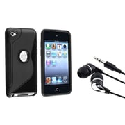 Insten® 680529 2-Piece MP3 Headset Bundle For Apple iPod Touch 4th Gen