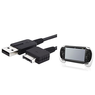 Insten® 687112 2-Piece Game Cable Bundle For Sony PlayStation Vita
