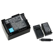 Insten® 3-Piece DV Battery Bundle For Canon BP-808/BP-819(737164)