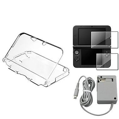 Insten® 737250 3-Piece Game Case Bundle For Nintendo DSi/DSi LL/XL/2DS/3DS