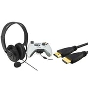 Insten® 756901 2-Piece Game Cable Bundle For Microsoft Xbox 360