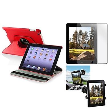 Insten® 810703 3-Piece Tablet Case Bundle For Apple iPad 2/3/4