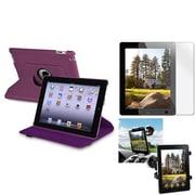 Insten® 810705 3-Piece Tablet Case Bundle For Apple iPad 2/3/4