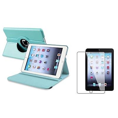 Insten 816059 Leather Folio Cases for Apple iPad Mini, Light Blue