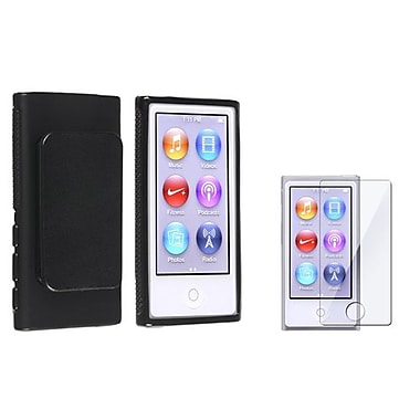 Insten 2 Piece MP3 Screen Protector Bundle For Apple iPod Nano 7th Gen (857287)