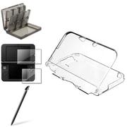 Insten® 4-Piece Game Case Bundle For Nintendo 3DS XL/LL(873549)