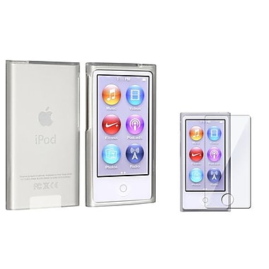 Insten 2 Piece MP3 Screen Protector Bundle For Apple iPod Nano 7th Gen (900561)