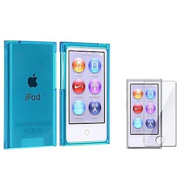 Insten® 915652 2-Piece MP3 Case Bundle For Apple iPod nano 7th Gen