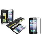 Insten® 932982 2-Piece iPhone Case Bundle For Apple iPhone 5/5S/5C
