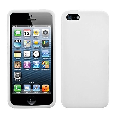 Insten Solid Skin Case For iPhone 5/5S, Translucent White (992848)