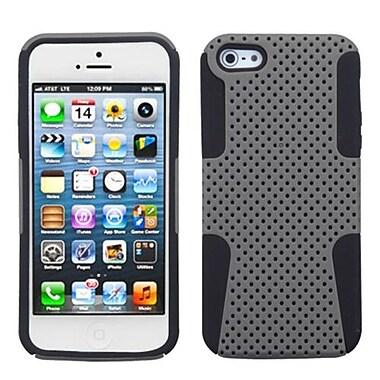 Insten® Astronoot Phone Protector Cover F/iPhone 5/5S, Grey/Black
