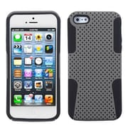 Insten® Astronoot Phone Protector Cover F/iPhone 5/5S, Grey/Black