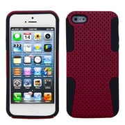 Insten® Astronoot Phone Protector Cover F/iPhone 5/5S, Red/Black
