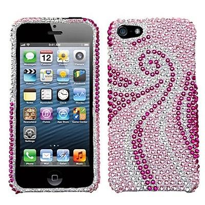 Insten® Diamante Protector Cover F/iPhone 5/5S; Phoenix Tail