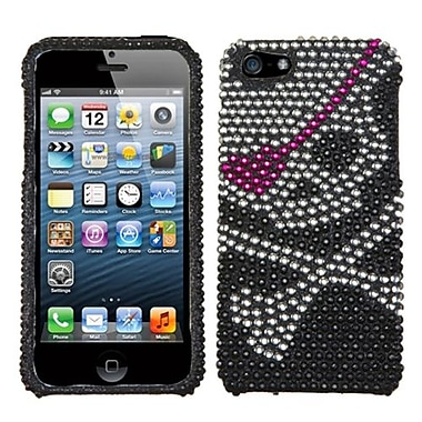 Insten® Diamante Protector Cover F/iPhone 5/5S, Skull