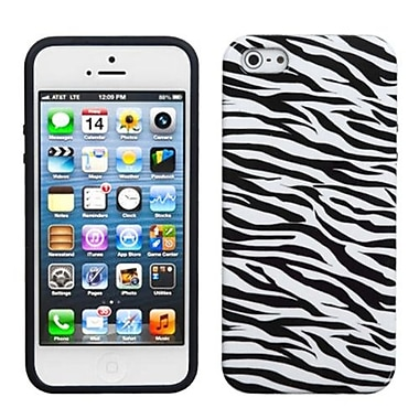 Insten® Argyle Candy Skin Cover F/iPhone 5/5S, Zebra Skin