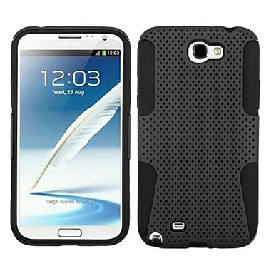 Insten® Astronoot Phone Protector Cover F/Samsung Galaxy Note II (T889/I605), Grey/Black