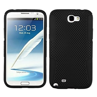 Insten® Astronoot Phone Protector Case For Samsung Galaxy Note II (T889/I605), Black