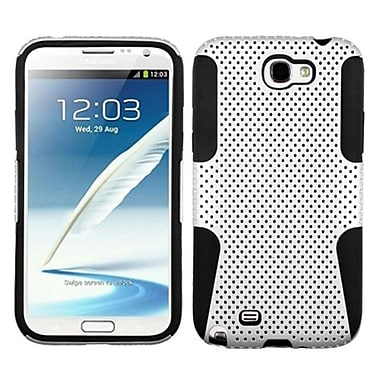 Insten® Astronoot Phone Protector Cover F/Samsung Galaxy Note II (T889/I605), White/Black