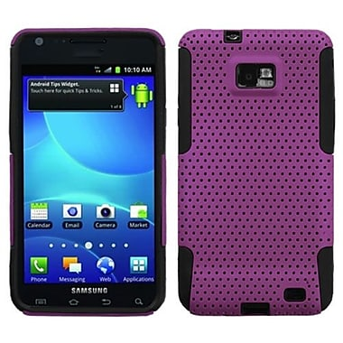 Insten® Astronoot Phone Protector Case For Samsung I777 Galaxy S2, Purple/Black