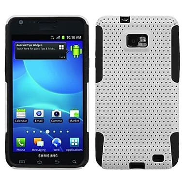 Insten® Astronoot Phone Protector Case For Samsung I777 Galaxy S2, White/Black