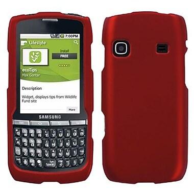 Insten® Phone Protector Case For Samsung M580 (Replenish), Titanium Solid Red