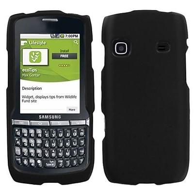 Insten Rubberized Phone Protector Case For Samsung M580 (Replenish), Black 1409629